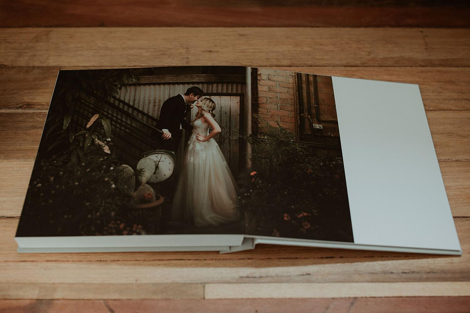 wedding photography album