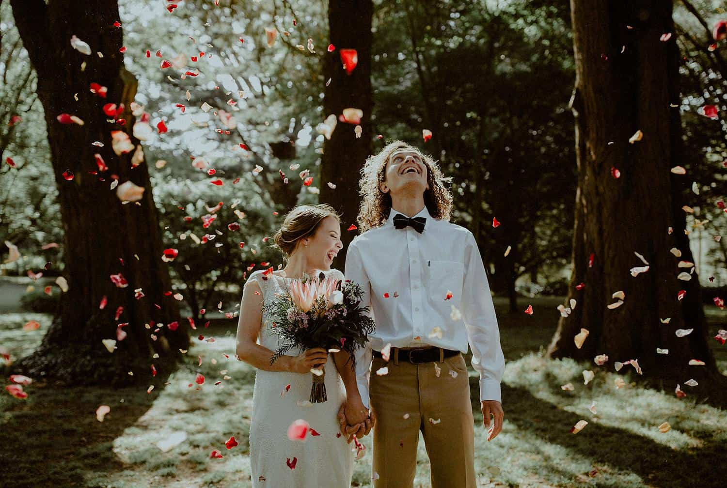 creative candid wedding photography